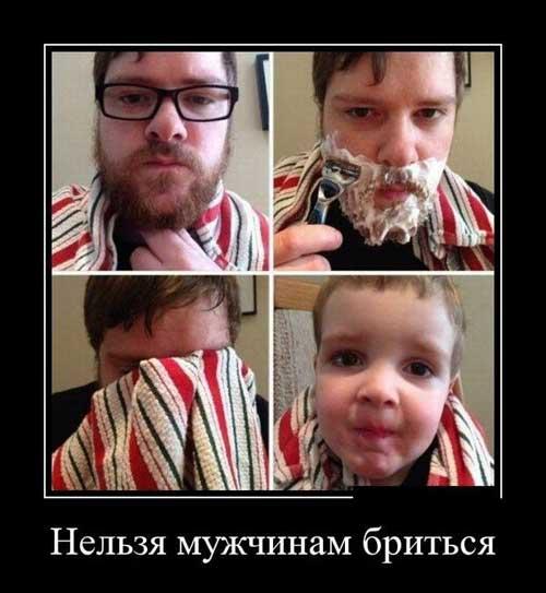 Демотиваторы про бороду