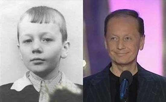 Детские фото знаменитостей России