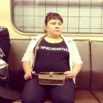 Приколы в метро Москвы — фото