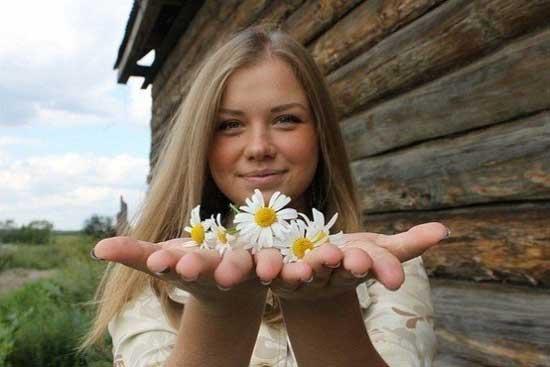 Славянские девушки - фотографии
