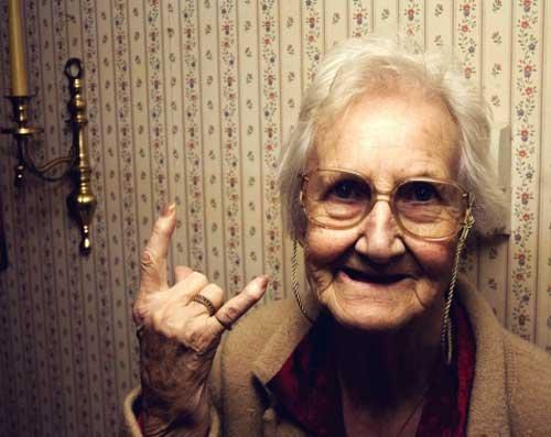 Смешные старушки - картинки