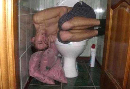 приколы пьяных в бане